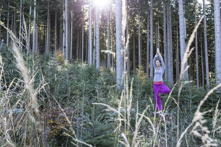 Image from the new campaign for the yoga fashionlabel hut&berg balance. Shot in Chiemgau, Bavaria. Model: Ranja Weis © augustundjuli Fotografie  #yoga #peace #stillness #nature #peaceful #photography #Munich #Hildebrand #Hatz #augustundjuli #chiemgau #tree #meditation #München