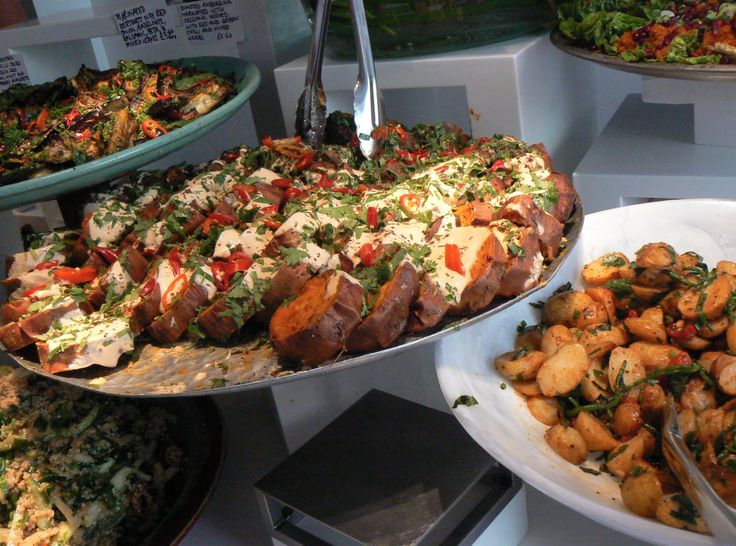 deliciousness at Ottolenghi