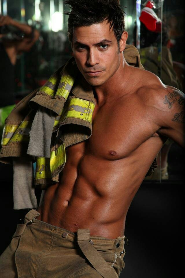 Just in case it heats up tomorrow you'll have this guy to put out the fire ;)