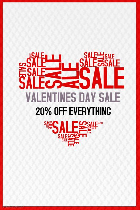 poster template on postermywall - Valentines Posters