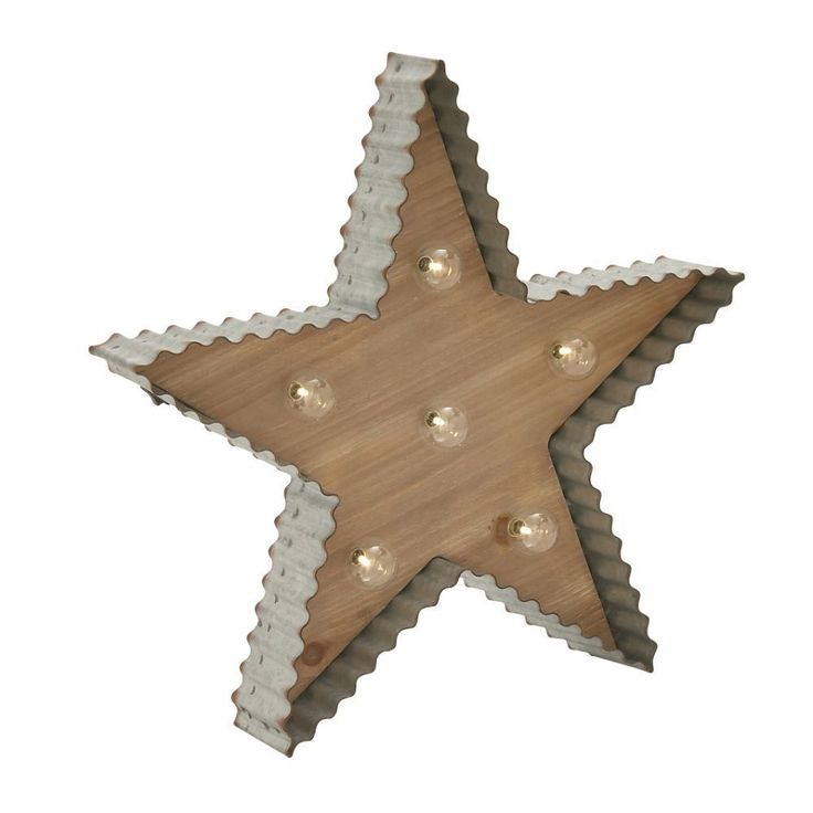 Awesome Wood Star Sign