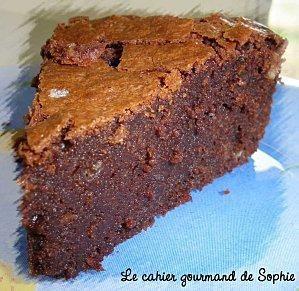 Le fabuleux gâteau au chocolat de Suzy (Pierre Hermé)