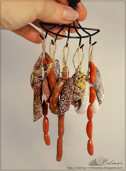 Hand-crafted miniature meats