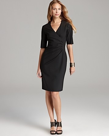 Long Black Dress Looking Professional