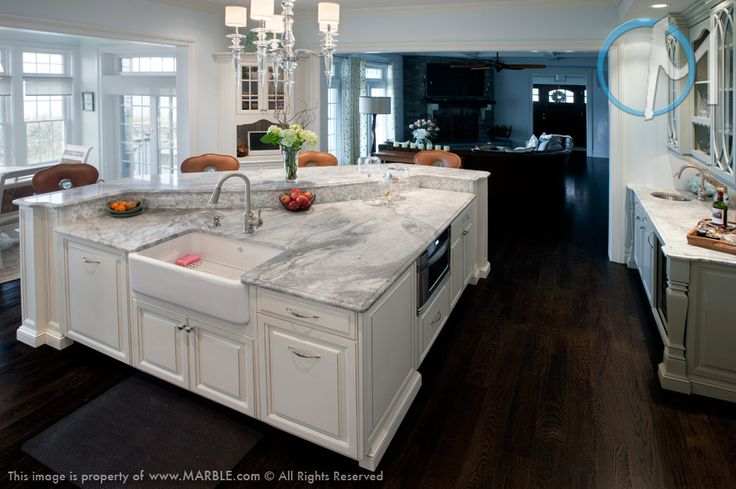 White Kitchen Cabinets With White Countertops. Beach House California  Dreamin In Ocean Blue White California Countertops And Bahia.