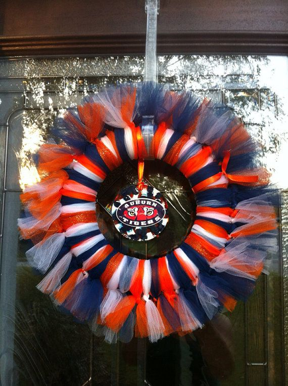 Auburn Tigers Wreath on Etsy, $28.00