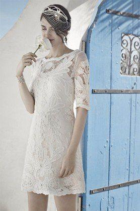 City Hall Wedding Dresses: BHLDN
