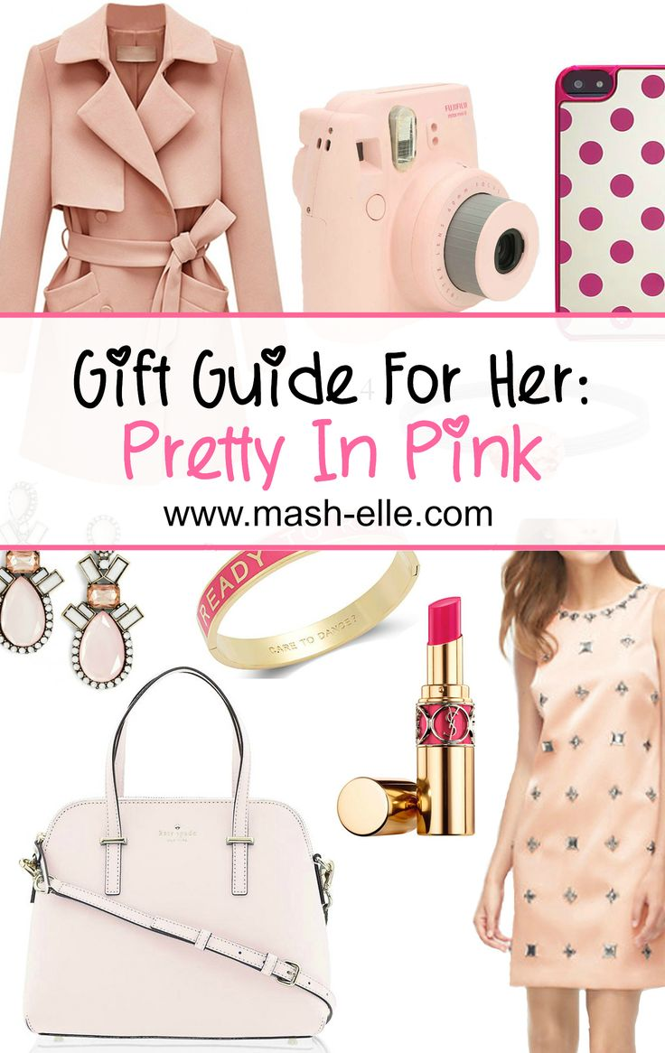 A list of the best Christmas gifts for the pink lover!