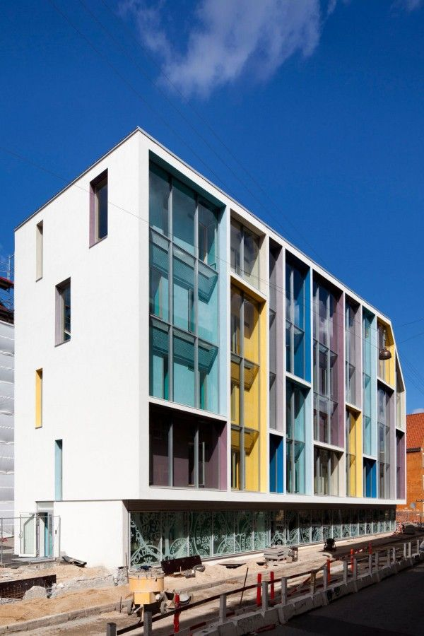 Modern Architecture Schools 15 best colorful modern architecture images on pinterest