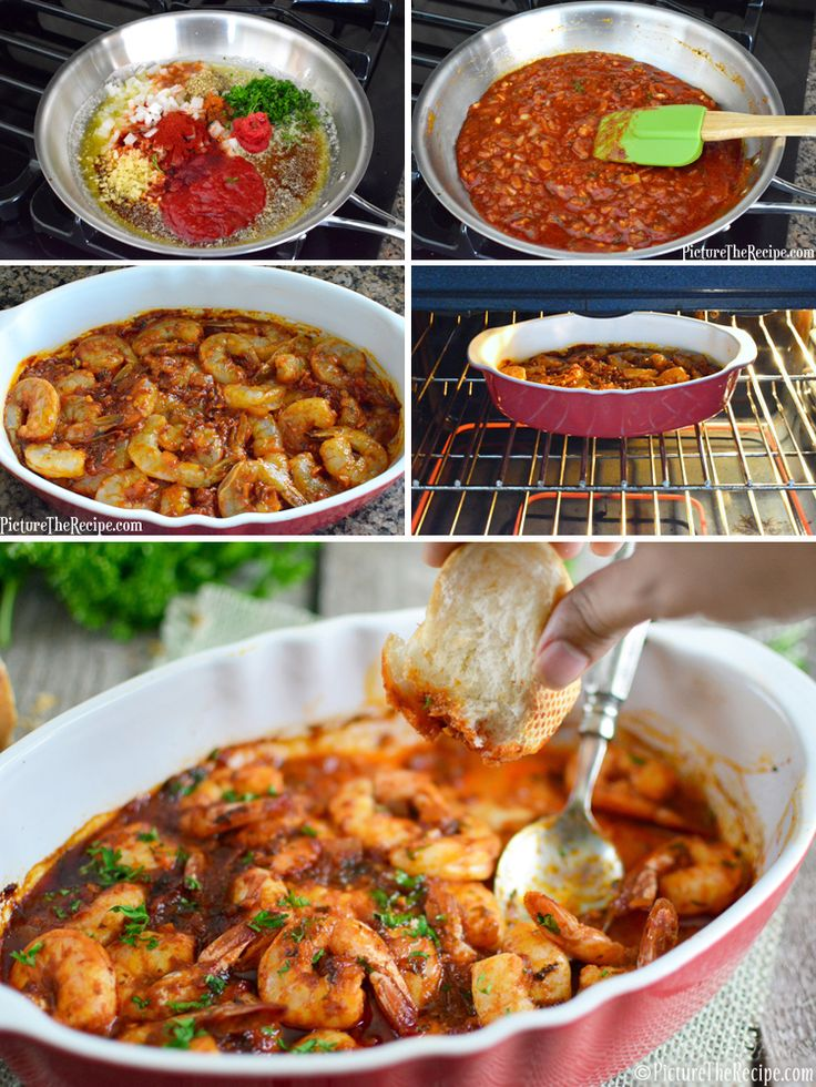 New Orleans Spicy BBQ Shrimp - Bold, spicy, buttery and messy…this drool-worthy shrimp dish is just the thing to satisfy winter cravings!   PictureTheRecipe.com