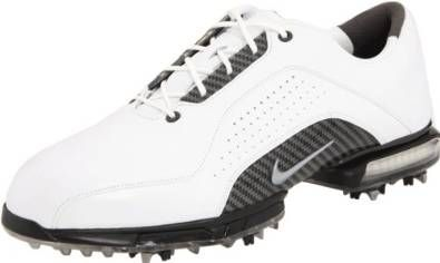 Made from premium full-grain waterproof leather these mens zoom advance golf shoes by Nike will ensure you stay dry and comfortable throughout the day