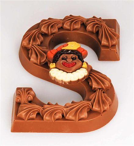 Dutch - Nederland-Chocolade Letter