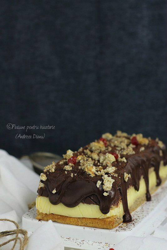 Prajitura cu ciocolata si vanilie, Dukan   Pasiune pentru bucatarie