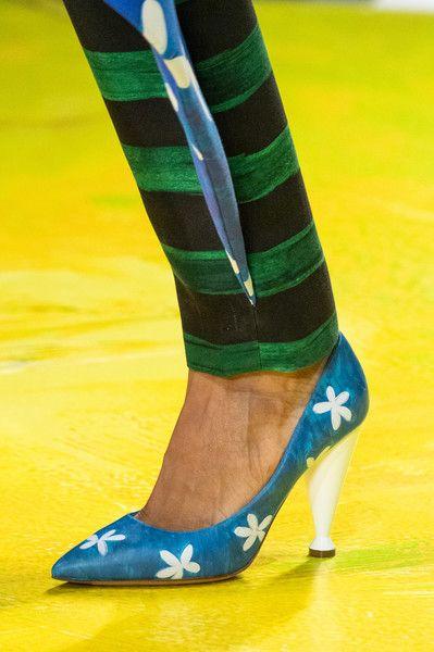 Moschino at Milan Fashion Week Spring 2020 – Shoes, Boots, Stockings
