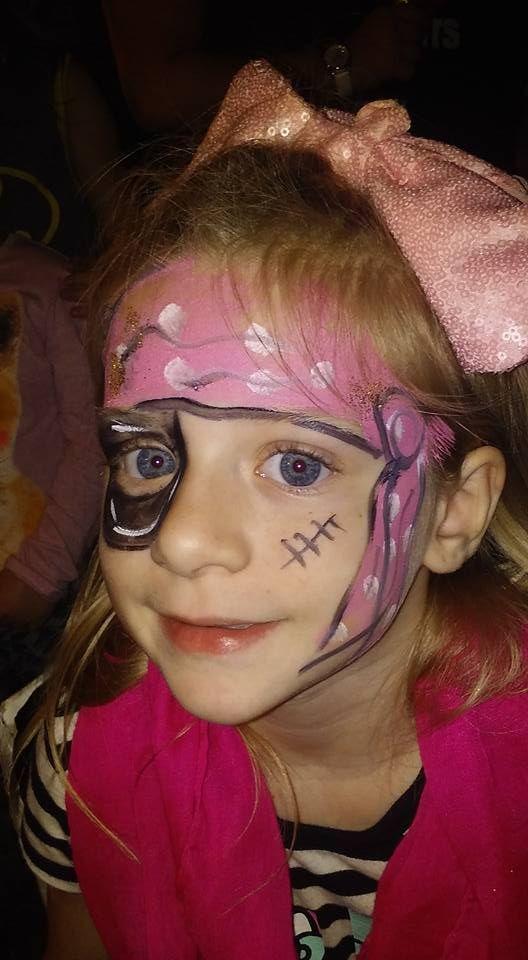 #piratefacepaint  #girlpiratefacepaint   #ocalafacepaint  #funfacesballooncreationsfacepaint