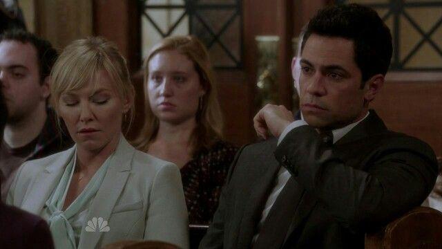 "Danny and Kelli in ""Spousal Privilege """