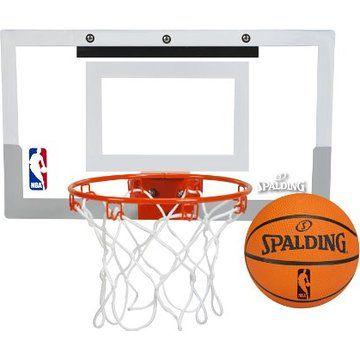 Spalding NBA Slam Jam Over-The-Door Mini Basketball Hoop