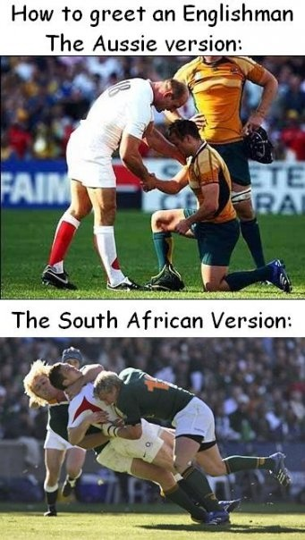 Rugby! Funny,but I love it!!