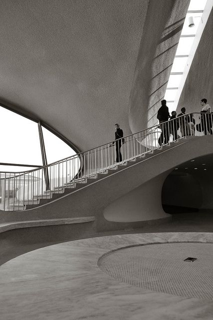 TWA Terminal @ JFK by Eero Saarinen (1962)