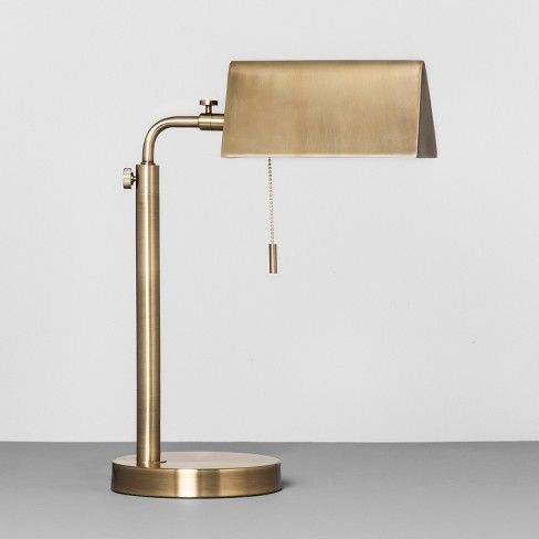 Let The Brass Library Task Lamp From Hearth Amp Hand With Magnolia Add The Perfect Ambient