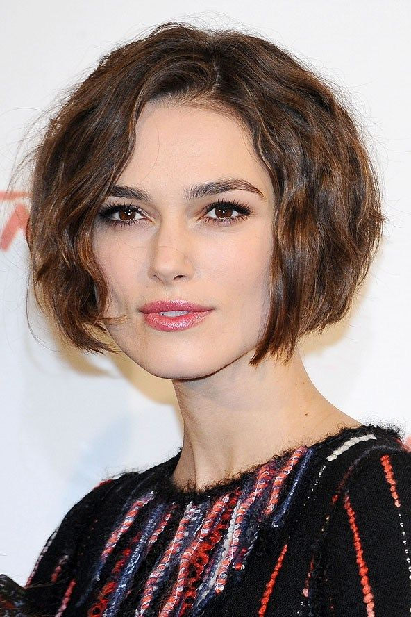 Magnificent Bobs Wavy Bobs And Keira Knightley On Pinterest Hairstyle Inspiration Daily Dogsangcom