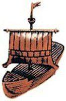 Die Cast Pencil Sharpener: Viking Boat