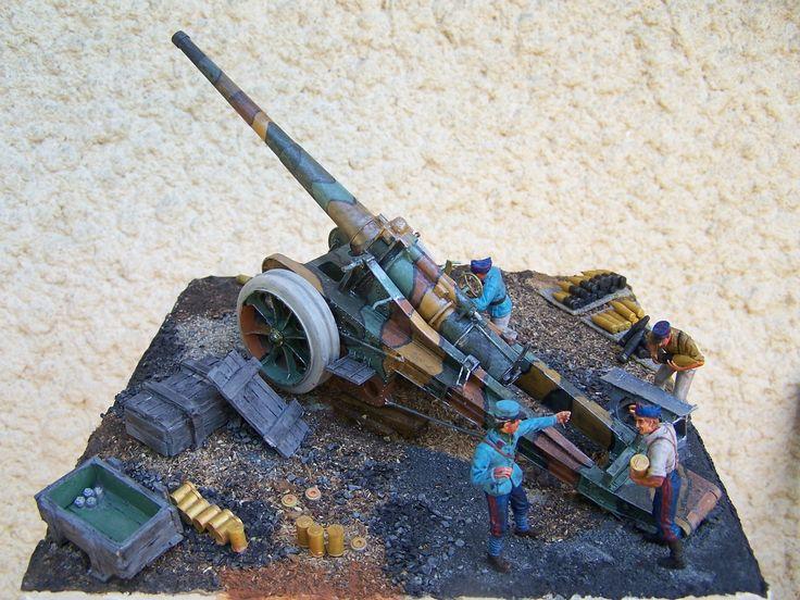 un nouveau diorama WW1 guerre 1914/1918 un camion tracteur pour canon lourd de marque RENAULT EG (Blitz toujours en pointe!)