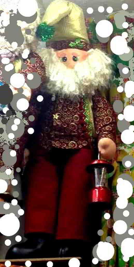 Molde: Noel grande con lampara