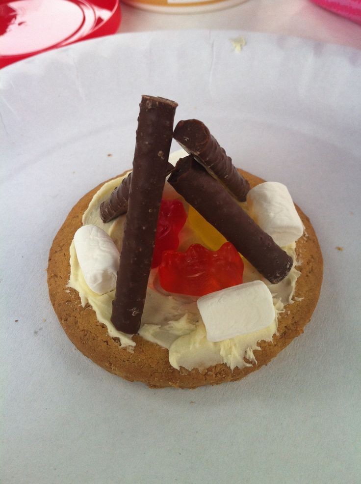 Campfire Biscuits | Campfire biscuits, Campfire snacks ...