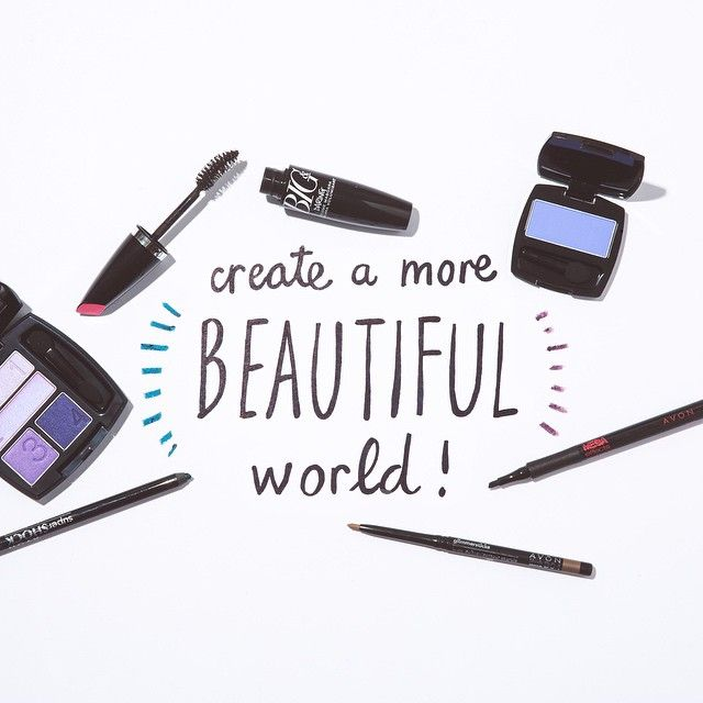 Create a more beautiful world! #AvonMakeup www.youravon.com/chantalhill