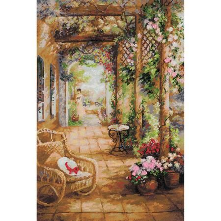 "A Secret Romance Counted Cross Stitch Kit, 15.75"" x 23.5"", 14-Count"