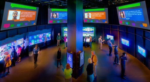 HP New Media Gallery at Newseum: Social Network, Dc Trips, Museums, Advanced Products, Social Media, Galleries Exhibitions, Washington Dc, Galleries Open, Media Galleries