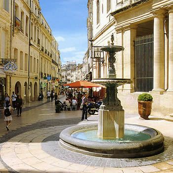 Montpellier, France. France Travel & French Language Travel in France and learn fluent French with the Eurolingua Institute http://www.eurolingua.com/french/homestay-france-2