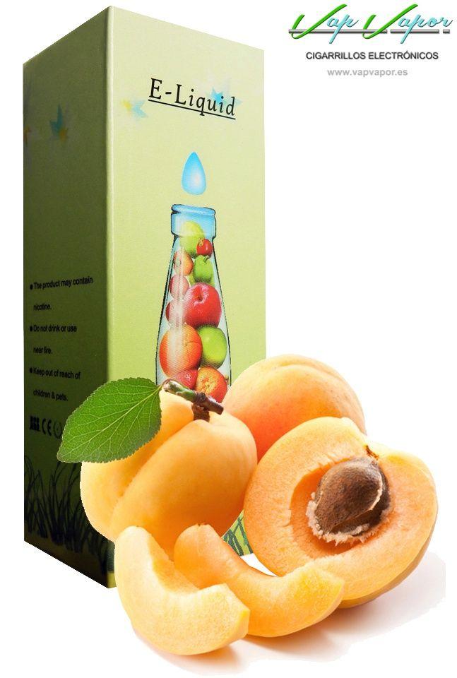 e-liquid Albaricoque  http://www.vapvapor.es/liquido-frutas-cigarrillo-electronico  Líquidos para cigarrillos electrónicos de la marca e-liquid. Nuestra marca e-liquid se caracteriza por su gran variedad de aromas y sabores.     - e-liquid sabor Albaricoque (afrutado)     - Categoría: frutas