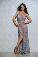 Long Fishnet Dress