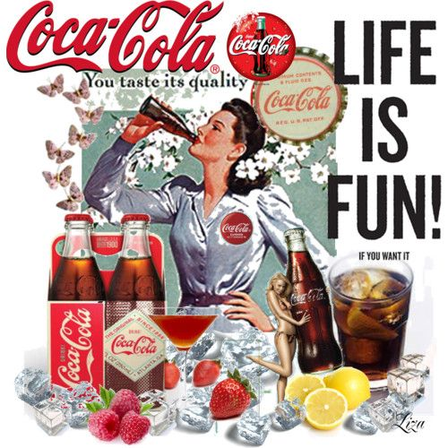 life is fun with coca cola. Black Bedroom Furniture Sets. Home Design Ideas