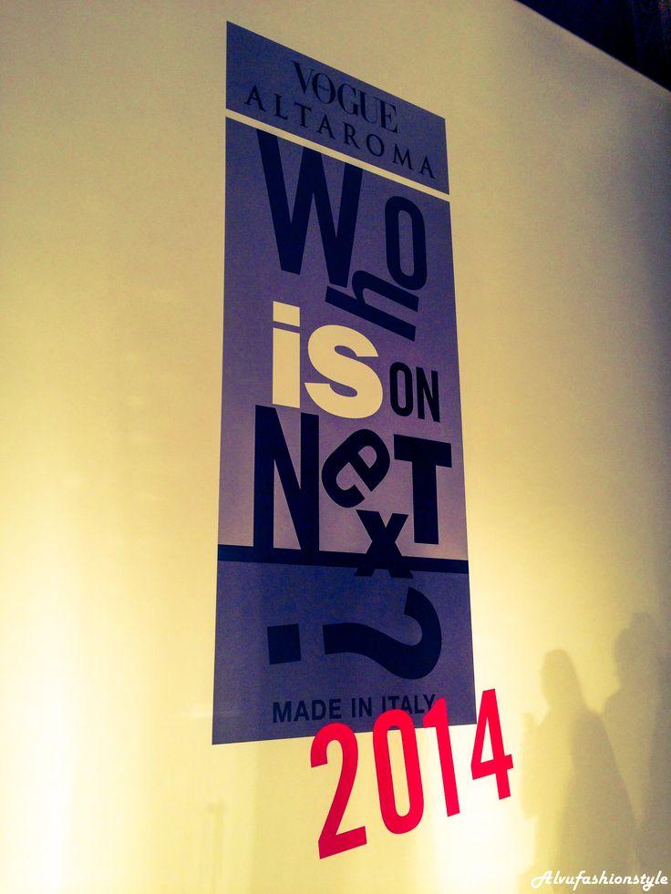 http://alvufashionstyle.com/2014/07/15/altaroma-vogue-italia-presentano-who-is-on-next-corion-vince-categoria-accessori/