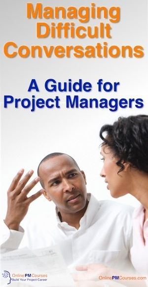 Managing Difficult Conversations: A Guide for Project Managers From time to time, every Project Manager will find themselves managing difficult conversations. Because it is an important part of our role. But it's one we'd rather not have. Then, of course, at the end of a hard day or week at work, you leave work. And again, you will have to face these types of conversation at home, with friends and in social situations.