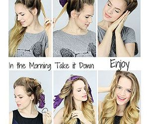 18 Overnight Hair Tutorials That Will Let You Wake Up With