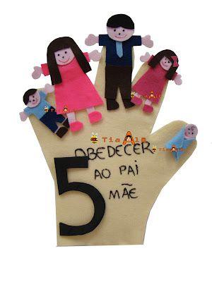5º Mandamento - OBEDECER AO PAPAI E MAMÃE