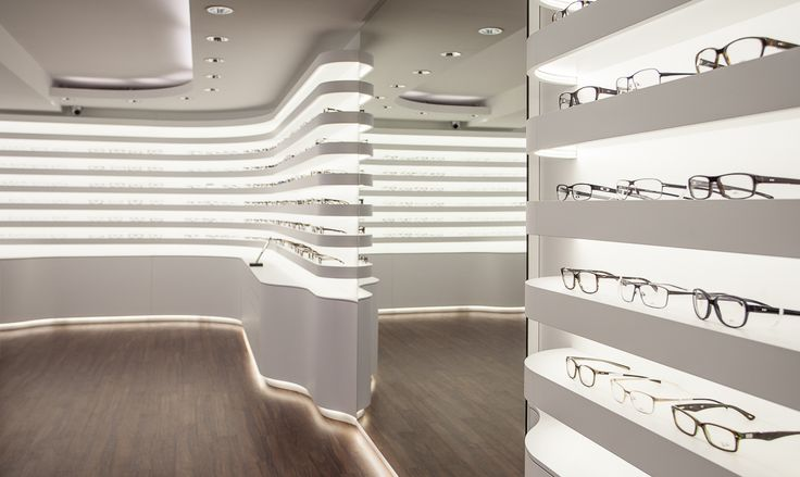 Bela Benedek - optical shop design design