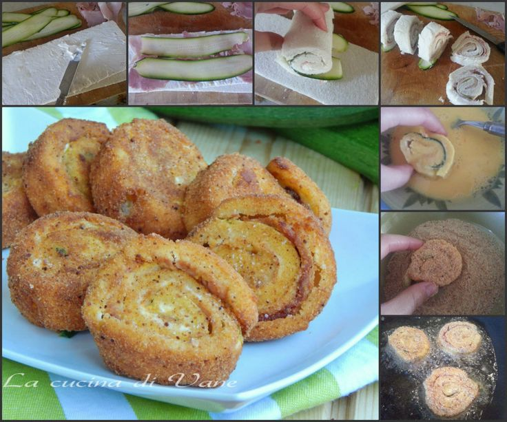girelle di pane faricte fritte dorate passo passo