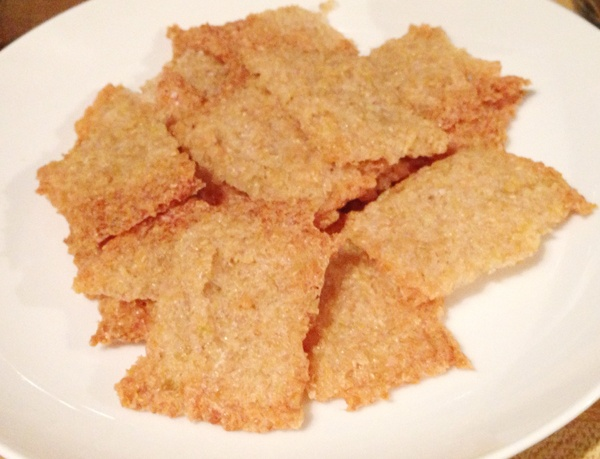Gluten Free Brown Rice Crackers | Healing and Eating