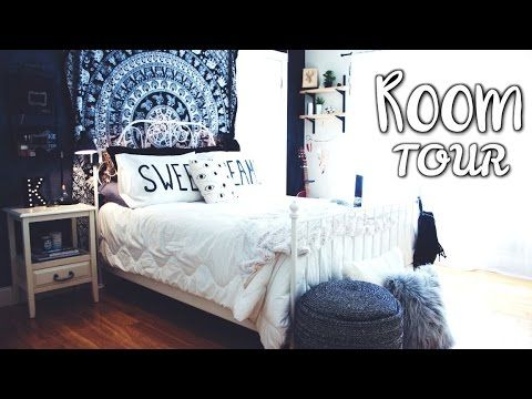 Hello! Here is my updated room tour that you all have been requesting! Hope you like it :) Link for tapestry: http://www.amazon.com/gp/product/B00U2NAXUC?psc...