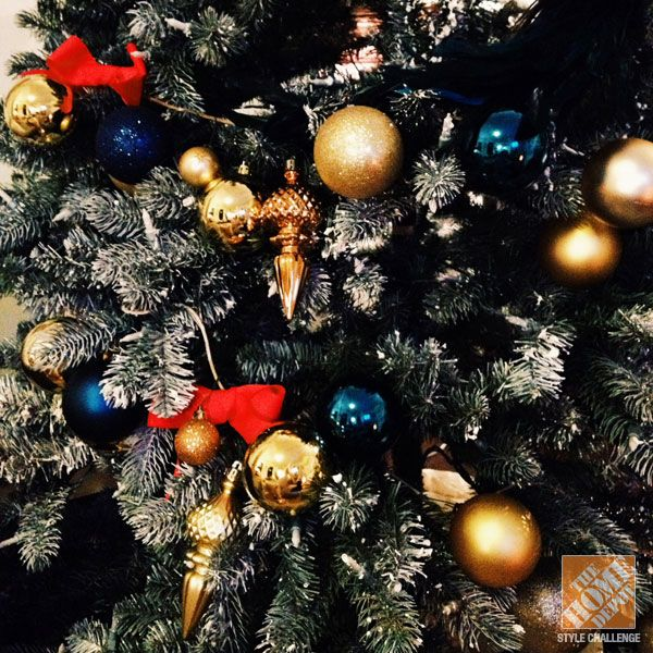 Blue and gold christmas tree ideas for Blue and gold christmas
