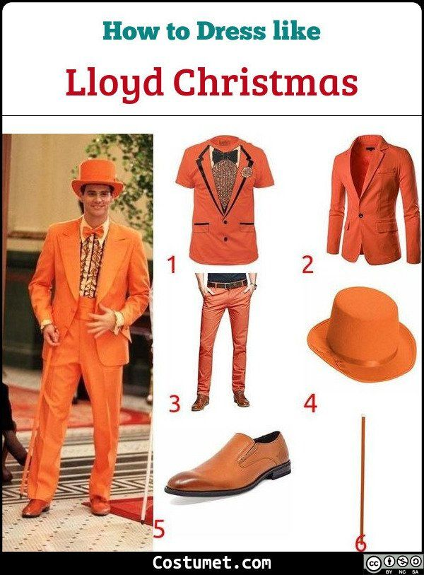 5e7be6ae09d In their iconic 'suits scene' Lloyd Christmas wears an all-orange tuxedo,
