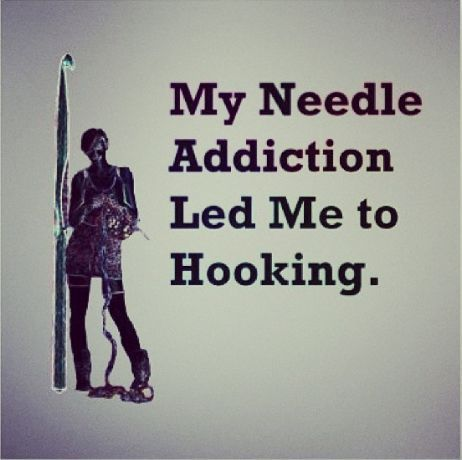 Image result for my needle addiction lead me to hooking