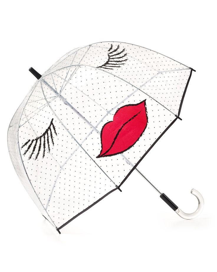 Felix Rey Kissy Face Umbrella   Bloomingdale's