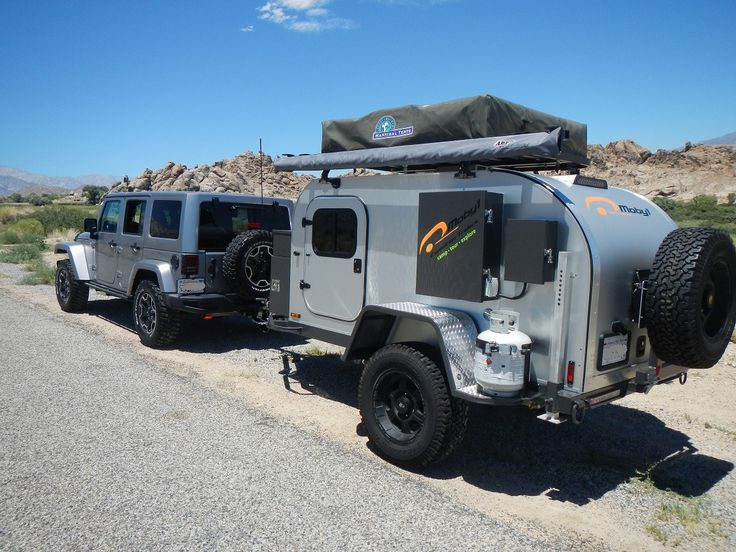 10A Rubicon and Moby1 Expedition Trailer