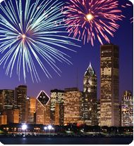 chicago on fourth of july